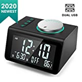 Best Alarm Clock Radios - ANJANK Small Alarm Clock Radio - FM Radio,Dual Review