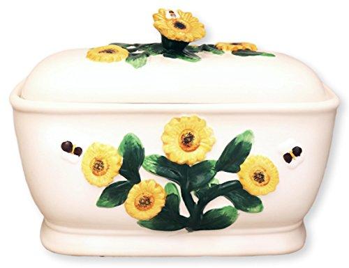 Tuscany 3D Sunflower Bread Box