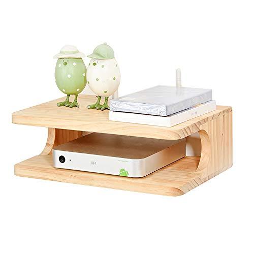LEGOUGOU Wandmontage Set-top Box Opbergrek Groen Wandmontage WiFi Router Telefoon Rek Wandmontage Woonkamer Decoratief Frame