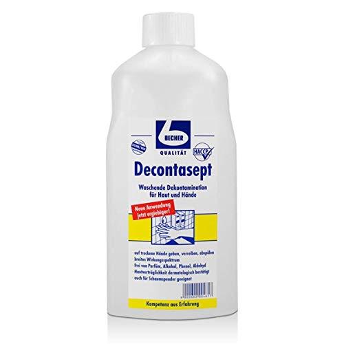 Becher Decontasept Desinfektionsmittel für Haut und Hände 1 Liter