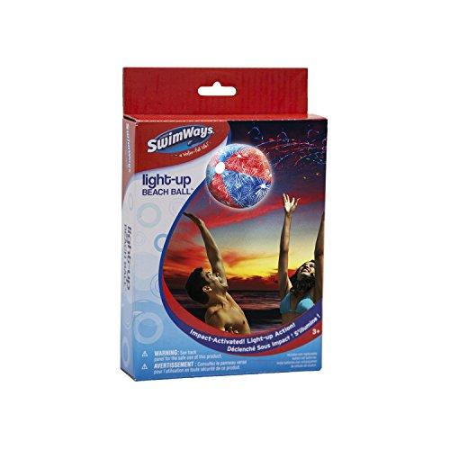 SwimWays 6038071 - Light Up Beach Ball