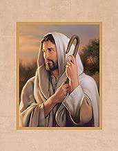 Simon Dewey The Good Shepherd 11x14 Mat- Portrait of Jesus Christ- New Testament Art