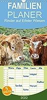 Rinder auf Eifeler Wiesen - Familienplaner hoch (Wandkalender 2022 , 21 cm x 45 cm, hoch): Besser auf der Wiese als im Stall (Monatskalender, 14 Seiten )