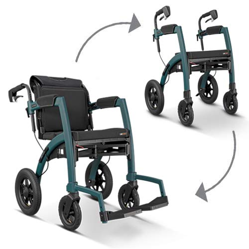 Rollz Motion Performance, All Terrain rollator and Wheelchair in one