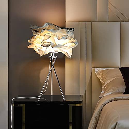 LXHLDD Trípode Lámpara De Papel De Arroz, Atmósfera Cálida Natural Simple Lampara De Pie, Luz De Lectura con Portalámparas E27 (Size : Table Lamp+Floor Lamp)