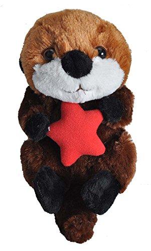 Wild Republic Sea Otter Plush, Stuffed Animal, Plush Toy, Gifts for Kids, Hug'Ems 7'