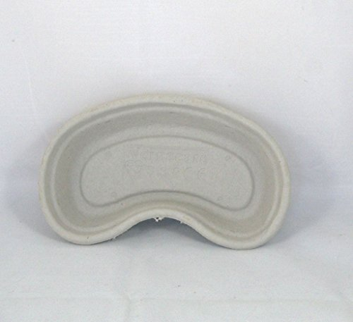 25 Disposable Cardboard Pulp Kidney Dish Bowls Hospital Style