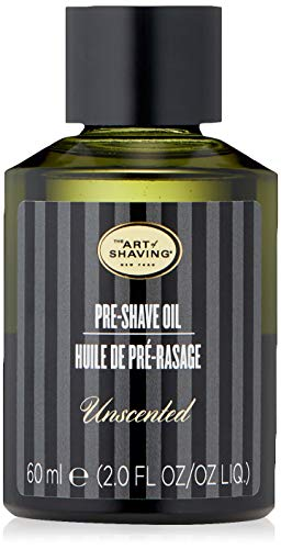 The Art of Shaving Pre-Shave Oil, Unscented, 2 Fl Oz