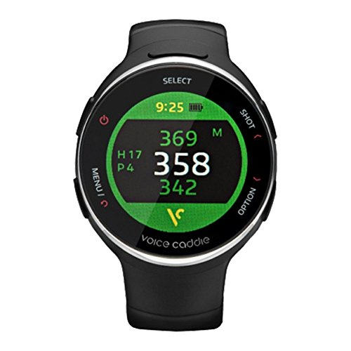 For Sale! Voice Caddie T3 Hybrid Golf Watch GPS Rangefinder English Language mode with English Manua...