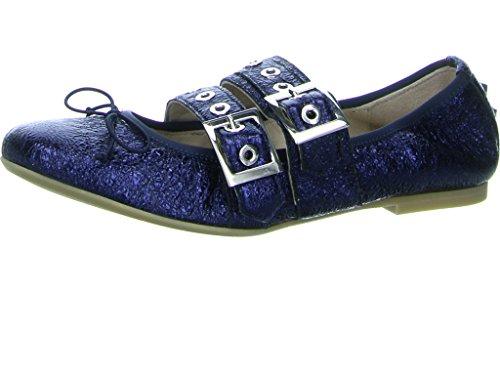 Donna Carolina Damen Ballerinas 3349 33494151 blau 280517