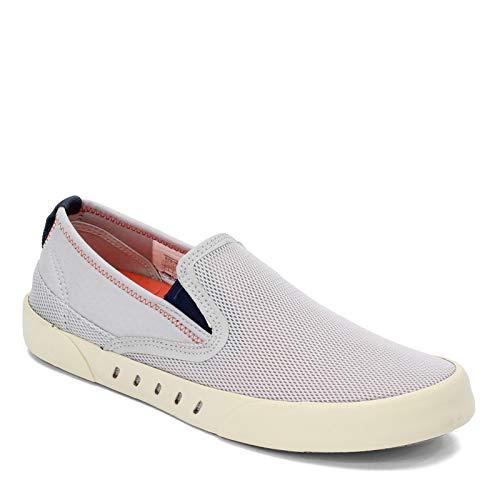 SPERRY Men's Maritime Slip On Water Shoe, Cement/Orange
