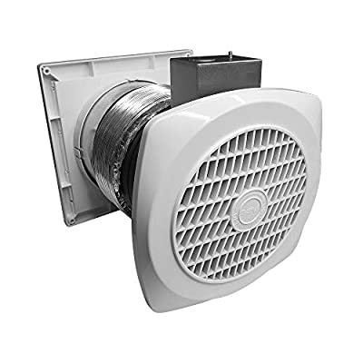 BV Ventilation Exhaust Fan for Home, Through-The-Wall Utility Fan