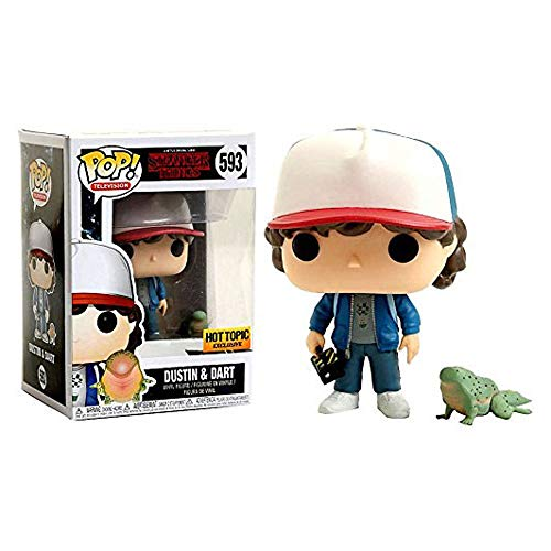 Funko Pop Television : Stranger Things – Dustin and Dart 3.75inch Vinyl Gift for Horror TV Fans SuperCollection