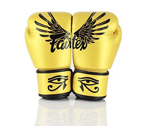 Fairtex Gloves Muay Thai Boxing Sparring BGV1 (Falcon, 16oz)