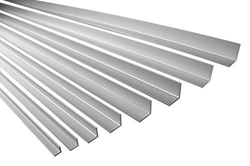 2 Meter | Winkelprofil | Alu | eloxiert | Ecke | Effector | B13 | silber