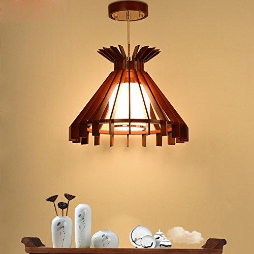 LIGHTINTHEBOX-LIGHT Lumi/ères Pendantes R/étro Style Lustre en Bambou cr/éatif en Bambou//Restaurant Lampadaire de Bar /à th/é//Asie du Sud-Est Lustre /à Couloir de Couloir de Couloir