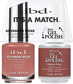 ibd Advanced Wear Color Duo Mauve Over #503 UV Gel Color