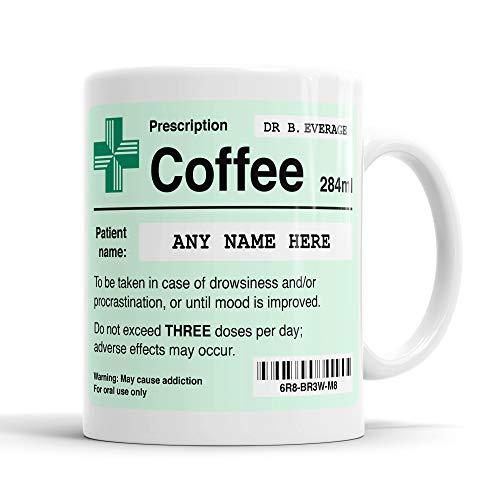 Personalised Prescription Coffee Mug