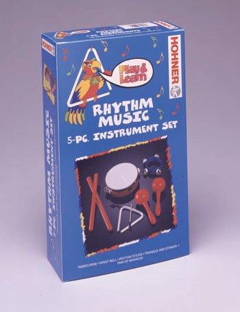 Rhythm Music Five-Piece Instrument Set by Hohner