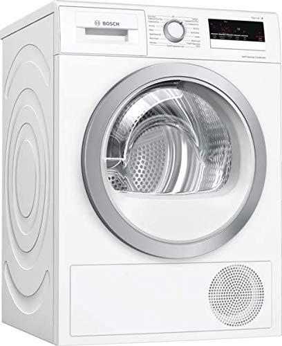 Bosch WTW85231GB Serie 4, Freestanding Heat pump tumble dryer, 8 kg - White
