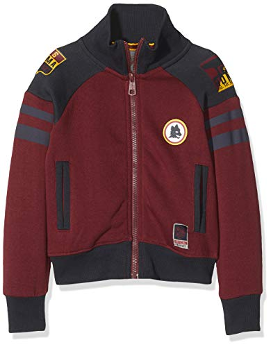 AS Roma Jungen AS Rom Kinder Pullover Jacke, Bordeaux, 4