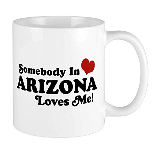 N / A Jemand in Arizona liebt Mich Becher Einzigartige Kaffeetasse, Kaffeetasse