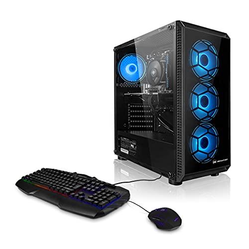 Megaport PC Gamer Nomad - AMD Ryzen 5 3500X 6x3.60 GHz • GeForce GTX1650 • Windows 10 • 16Go 3000MHz RAM • 500Go M.2 SSD • Clavier et Souris Gamer • Windows 10 • WLAN