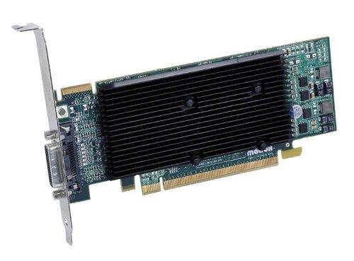 Matrox Electronic Systems GmbH M9120 Plus LP DH 512MB DDR2 PCI16X-EX DUAL-DVI OGL2.0 PASSIV M9120-E512LPUF M9120 Plus LP DH Graphic Cards Other (PCI 512MB GDDR2 DVI 1 GPU)