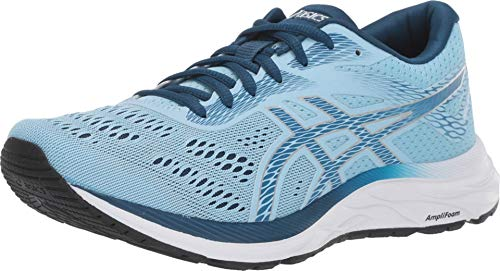 ASICS Women's Gel-Excite 6 (D) Running Shoes, 8.5W, Heritage Blue/MAKO Blue