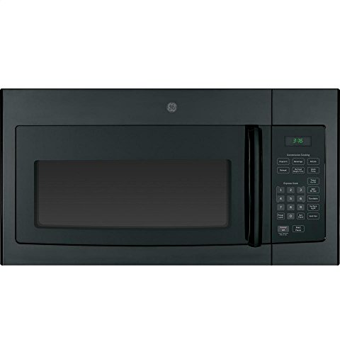 "GE JVM3160DFBB 30"" Over-the-Range Microwave Oven with 1.6 cu. ft. Capacity in Black"