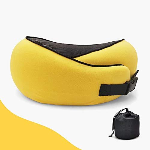 Cómodo Memoria HUAFENG almohada de espuma puede ser en forma de U-T Incorporated LOGO Almohada personalizada viaje almohadilla del aire Cervical Almohada for cuello de la siesta