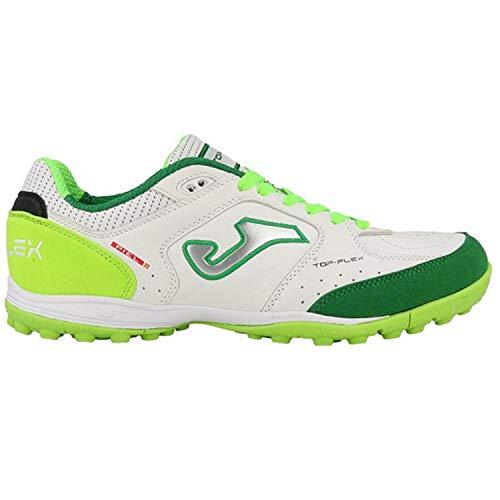 Joma_schoenen voetbalschoenen Top Flex Turf Tops_815 Bianco-Fluo schoenen