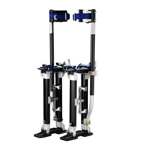 1120 Pentagon Tool 'Tall Guyz' Professional 24'-40' Black Drywall Stilts For Sheetrock Painting or Cleaning