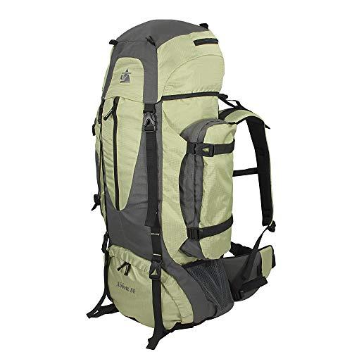 10T Outdoor Equipment Abbott 80 Sac marin, 85 cm, liters, Vert (Grün / Grau)
