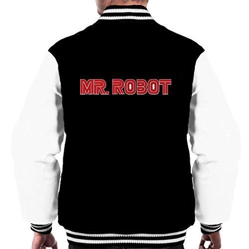 Mr Robot Logo Men's Varsity Jacket
