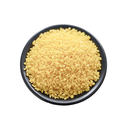 CoolCrafts Yellow Beeswax Pellets Easy Melt Beeswax Pastilles for DIY Candles, Creams, Lotions, Lip Balm and Soap Making - 2 lb (32 oz)