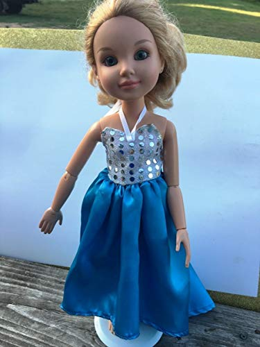 Handmade BFC Ink Doll Clothes Best Friends Club Doll Clothes Dress High Low Skirt Sparkly Prom Party Modern Dress