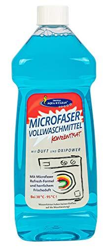 AQUA CLEAN Microfaser Vollwaschmittel Konzentrat 1l