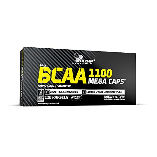 Olimp Kapseln BCAA Mega Caps 1100, 120 Kapseln