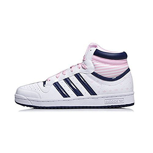Adidas TopTen Hi J Damen/Mädchen Schuhe Leder G43401 Gr. 36 2/3 (AJ1)