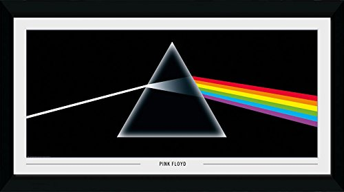 GB eye Ltd Pink Floyd-Dark Side of The Moon Stampa Artistica, Legno, Multicolore, 55 x 105 x 1.8 cm