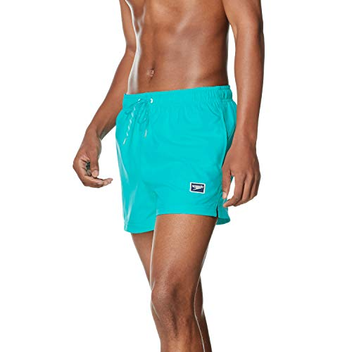 Speedo Men's Swim Trunk Short Length Redondo Solid, Ceramic, X-Large