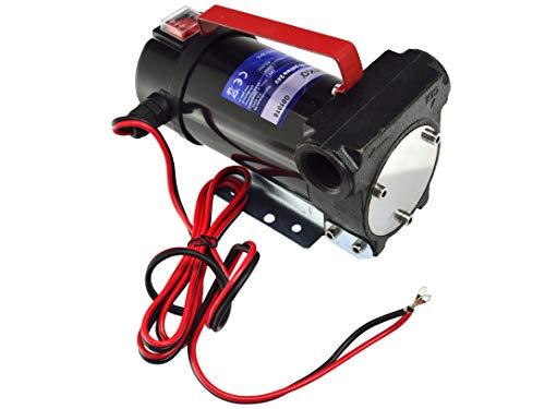 Kraftstoff Umfüllpumpe - Elektrisch Diesel Pumpe, Dieselpumpe, 12V Diesel Selbstsaugend Pumpe - 24V 155W - 3/4
