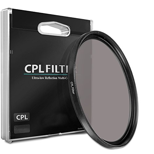 52mm CPL Circular Polarizer Filter for Canon EF 40mm f/2.8 STM Pancake Lens