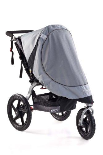 BOB Sun Shield for Single Revolution/Stroller Strides Models, Gray by BOB