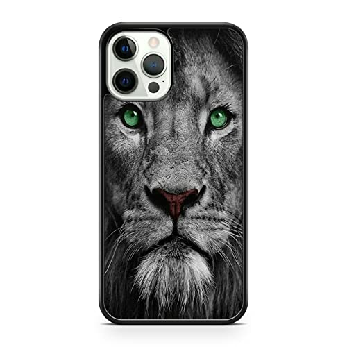 Glamorous - Carcasa para iPhone 5S, diseño de león, color verde