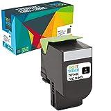 Cartuccia toner Do it wiser compatibile in sostituzione di Lexmark CS410n CS310n CS310dn CS410dn CS410dtn CS410nw CS510de CS510dte, 70C2HKE 70C2HK0 70C0H10 70C8HK0 (Nero)