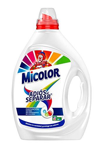 Micolor Detergente Líquido Adiós al Separar - 33 Lavados (1.65 L)