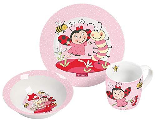 STEINBECK 13791 Vajilla infantil de porcelana