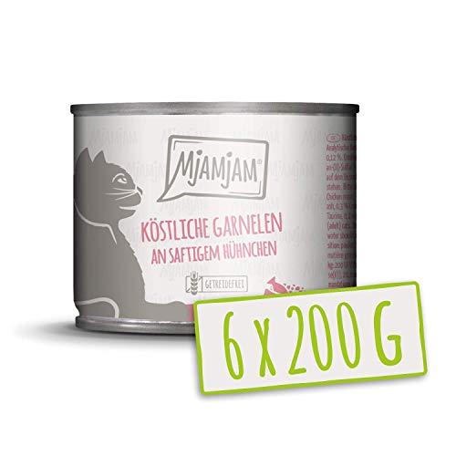 MjAMjAM köstliche Garnelen an saftigem Hühnchen 6x200 g, 1er Pack (1 x 1200 g)